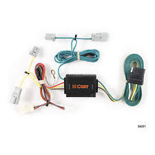 honda trailer wiring harness curt custom vehicle to trailer wiring harness 56051 for 2006 2015 honda civic