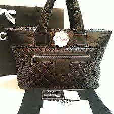 Authentic Chanel Coco Cocoon Quilted Nylon Large Shopping Tote Bag ... & photo photo ... Adamdwight.com