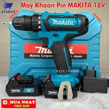 Máy Khoan Dùng Pin MAKITA 18V - Máy Bắt vít MAKITA 18V, Máy Khoan gỗ, Máy  Vặn Vít 18V