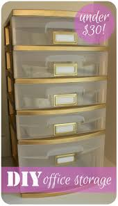 diy office storage ideas. diy office storage organizationwhy didnu0027t i think of this my plastic bin is totally getting a makeover weekend diy ideas