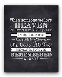 Amazon Remembrance Gift Quote Chalkboard Sign Unique Sympathy New Remembrance Love Image Quotation