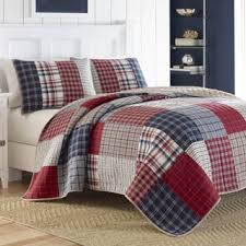 Plaid Quilts & Bedspreads For Less | Overstock.com & Nautica Ansell Cotton Reversible Quilt Adamdwight.com
