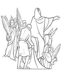 Palm Sunday Coloring Pages Getcoloringpagescom