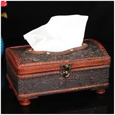 finance plan vintage european carving style tissue box paper case storage holder home decor