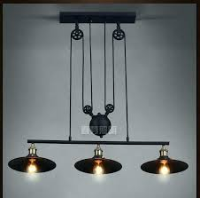 pulley pendant light pulley pendant light fixtures industrial pendant lamp lights loft pulley adjustable retractable coffee pulley pendant