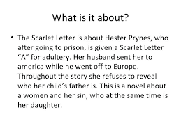 symbols in the scarlet letter essay on scarlet letter essays  symbols