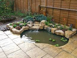 Small Picture Build a Small Water Feature Purbeck stone rockery waterfall and