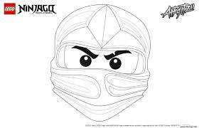 25 Idee Lego Ninjago Masker Mandala Kleurplaat Voor Kinderen