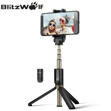BlitzWolf 3 in 1 <b>Universal Selfie Stick</b> Tripod - Travelust & Co
