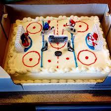 Fabulous Ideas Costco Bakery Cake Designs Hockey Rink Birthday From