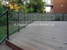 glass railing systems toronto stair balcony deck interior glass deck rail