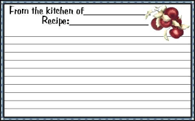 printable blank recipe cards 300 free printable recipe cards threeroses us