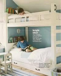 bunk bed lighting. Bunk Beds - Good Idea For Individual Lighting Shelf Books Bed