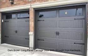 8x7 insulated carriage garage doors