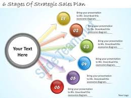 Sales Ppt Template 1113 Business Ppt Diagram 6 Stages Of Strategic Sales Plan