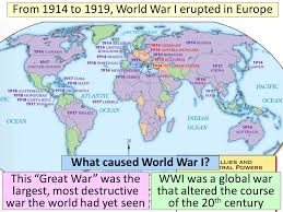 □ essential question what caused world war i □ cpwh agenda  essential question what caused world war i