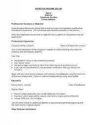How Do I Set Up A Resume Barraques Org