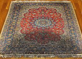 smoke damaged oriental rug