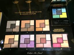 ysl mon paris couture eyeshadow palette yves saint lau couture palette 5 couleurs display at breuninger stuttgart