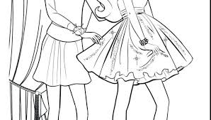 Coloring Pages Fashion Designer Free Clothing Barbie Pa Fairytale