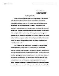 essays on the scarlet letter the scarlet letter essays gradesaver  pathway to purity nathaniel hawthorn s the scarlet letter page 1 zoom in