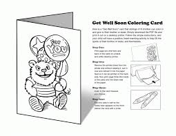 Small Picture Coloring Pages Get Well Card Printable Coloring Pages Printable