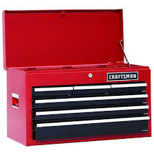 Craftsman 6 Drawer Rolling Cabinet Craftsman 6 Drawer Heavy Duty Top Tool Chest All Steel