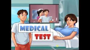 summertime saga 0 17 diane cal checkup pregnancy and fertility test 06