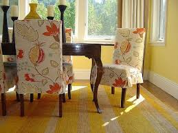 fabric chair covers for dining room chairs home