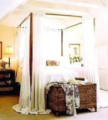 canopy bed sheer curtains – Playallthegames