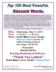 Good Words To Use On Resume Good Verbs To Use On Resumes Krida 12