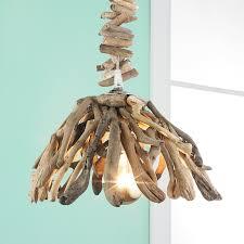 driftwood lighting. Reclaimed Driftwood Pendant Light Natural Lighting P
