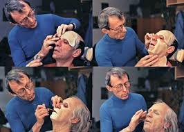 just like he does in that early 60s book smith demonstrates and in just a half hour s time several basic but incredibly effective makeup techniques