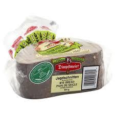Dimpflmeier Bread Hunter Style Rye Jagdschnitten 454 G From