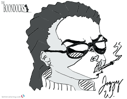 boondocks coloring pages 1978209