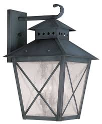 livex lighting 2676 61 montgomery wall light charcoal