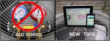 air conditioning repair tools. home air conditioning repair\u2026 old school vs new tool. if \u201c repair tools o