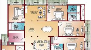 4 bedroom floor plan. Modren Floor 4 Bedroom Floor Plans  Home Design Decorating And Improvement Ideas On Plan U