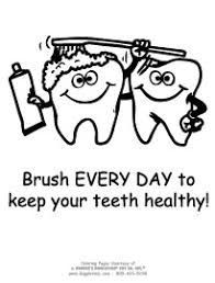 Small Picture dental health coloring sheets Google Search Preschool Crafts