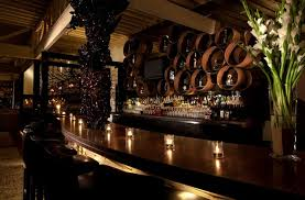 Sophisticated and Elegant Bar Interior Design of Red O Restaurant, Los  Angeles