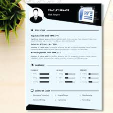 Microsoft Word Cv Template Simple Free Chef Resume Templates Word ...