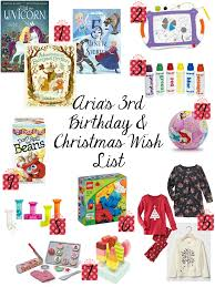 Sweet Turtle Soup: Aria's 3rd Birthday & Christmas Wish List ...