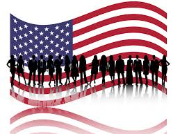 American Flag Powerpoint American Business People Powerpoint Templates Business