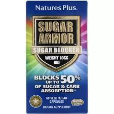 Nature's Plus, <b>Sugar Armor</b>, <b>Sugar Blocker</b>, <b>Weight</b> Loss Aid, 60 ...