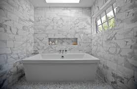 Marble Bathroom Design Modern Bathroom Kriste Michelini Interiors Cool Carrara Marble Bathroom Designs