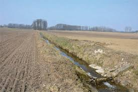 drainage ditch drainage ditch photo shown to the farmers in the study ramnerö 2015