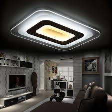 modern led lighting. contemporary lighting ultrathin acrylic modern led ceiling lights for living room bedroom  lamparas de techo colgante on modern led lighting
