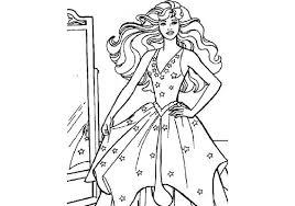 Barbie Kleurplaat Kleurplaatploofr