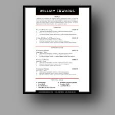 Modern Resume Skills Section Modern Male Resume Template Cover Letter Two Page Use