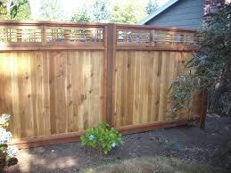 Japanese lattice top fence